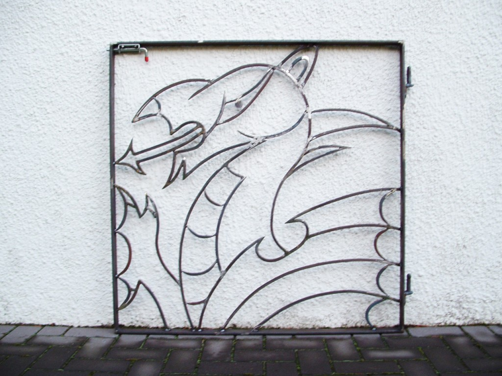 Welsh Dragon Gate